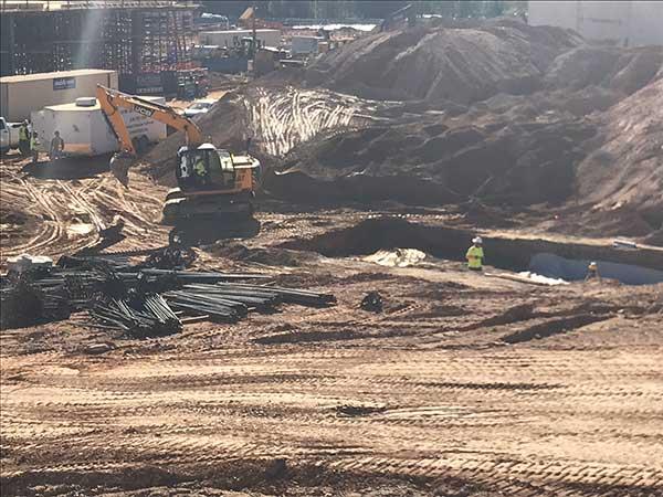 The Digging Continues at Madison Yards in Atlanta 10-22-18a