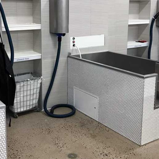 Beautiful dog self wash station as example in Atlanta 2