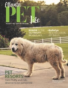 Atlanta Pet Life Magazine Cover